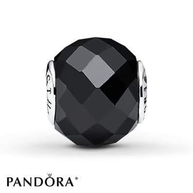 PANDORA ESSENCE Charm Black Spinel Sterling Silver