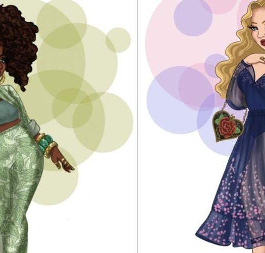 Plus size Disney Princesses by Jonquel Art