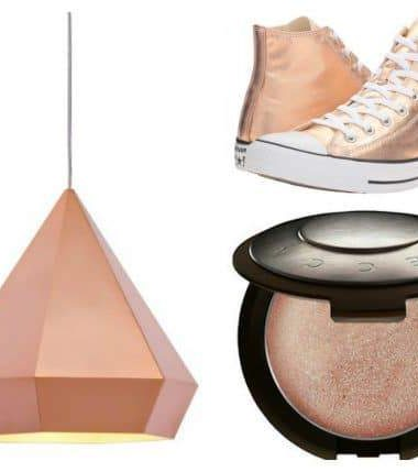 Rose gold must haves