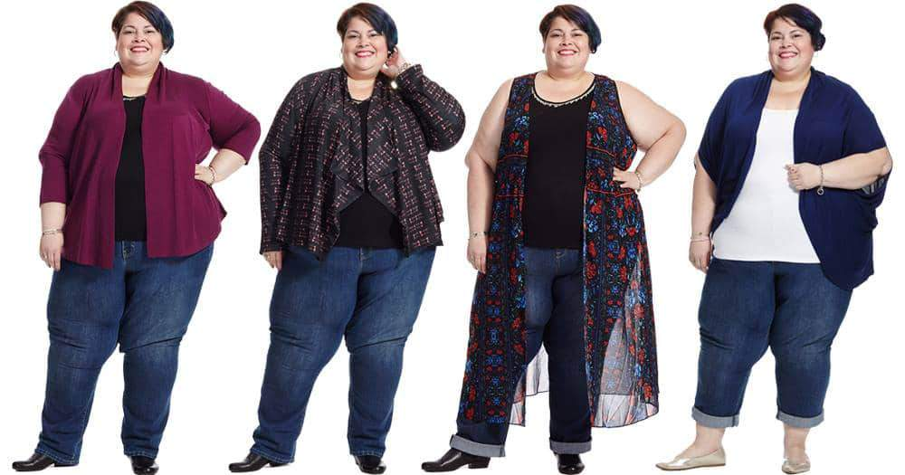 Plus size Blogger, Marcy Cruz Fearlessly Just Me