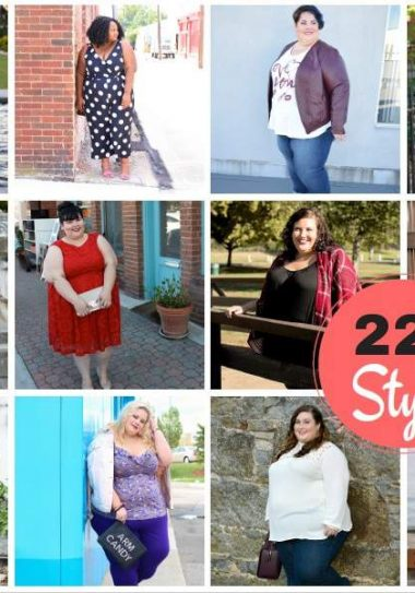 Blogger Lookbook Helps Make Size 22+ Women More Visible