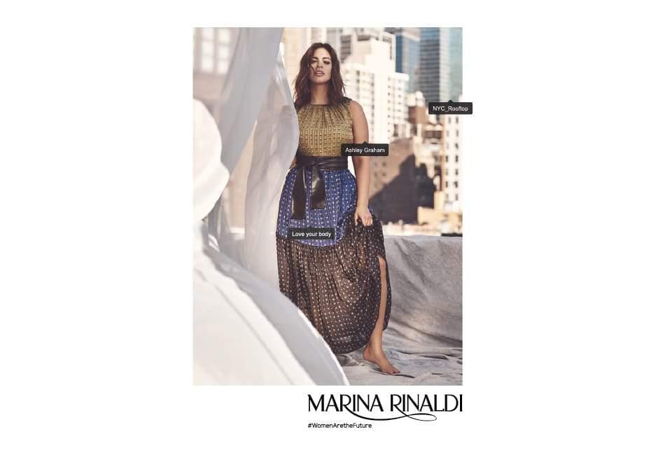The Marina Rinaldi Spring Campaign featuring Ashley Graham!