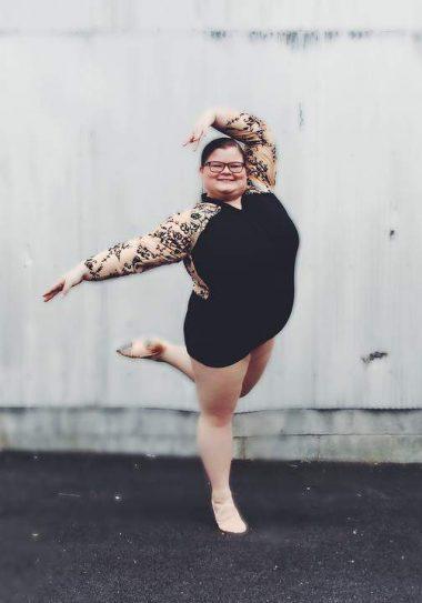 Lizzy Dances- Plus Size Ballerina
