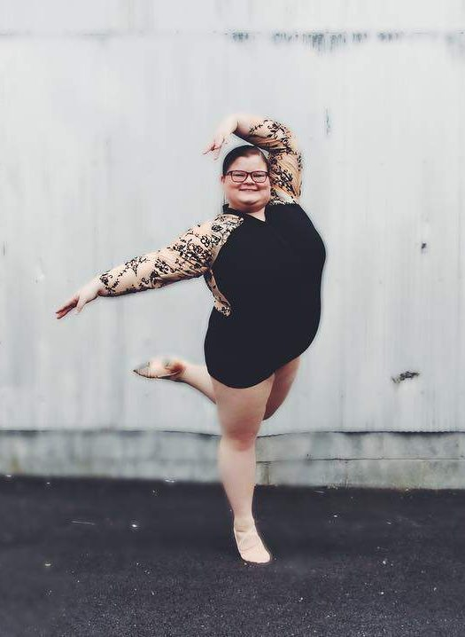 Lizzy Dances- Plus Size Ballerina