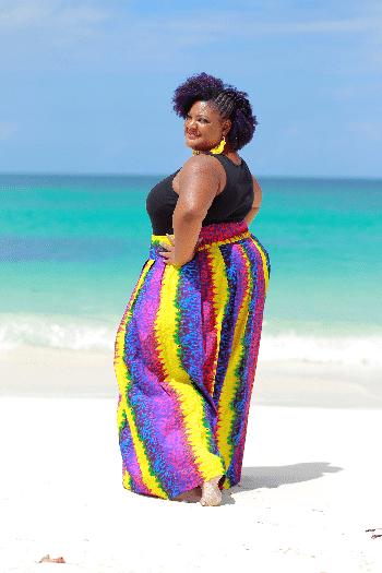 Meet Plus Size Fashion Blogger, Kenty of Kerai Kreative Style