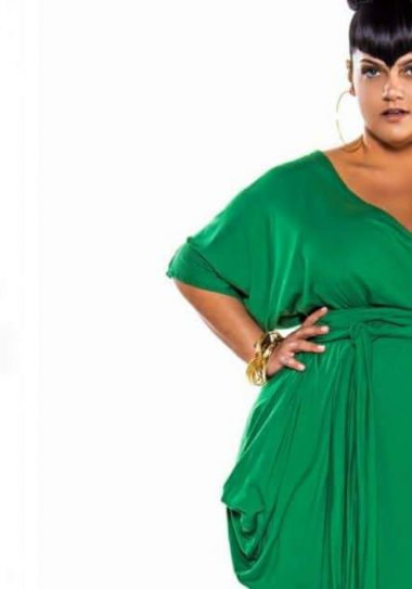 Patone Plus SIze Color of the Year Greenery