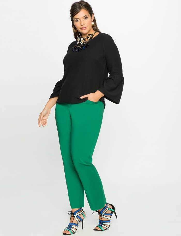 Kady Fit Double-Weave Pant at Eloquii.com