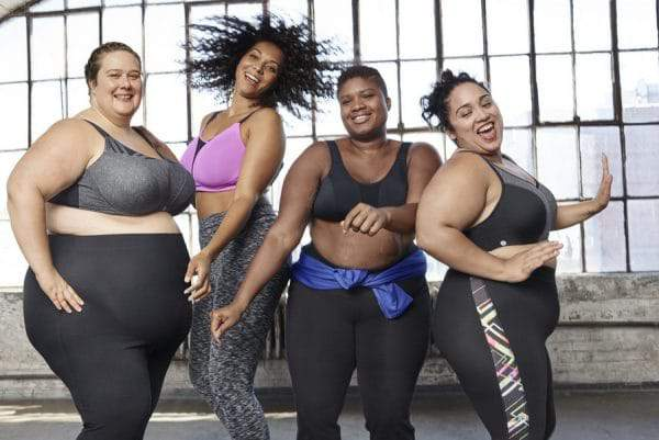 Lane Bryant LIVI Active Plus size active wear campaign