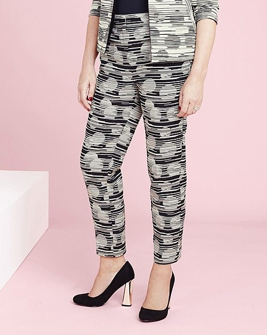 Plus Size Spot Pants at Simply Be