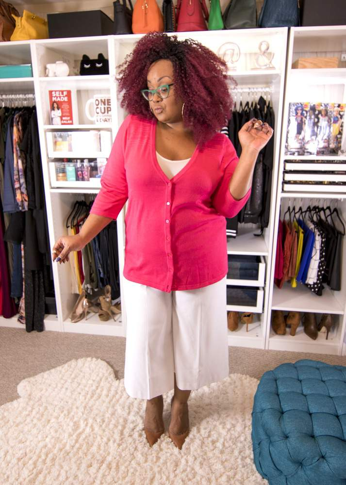 Plus Size Blogger- Marie Denee in Catherines Spring Layers