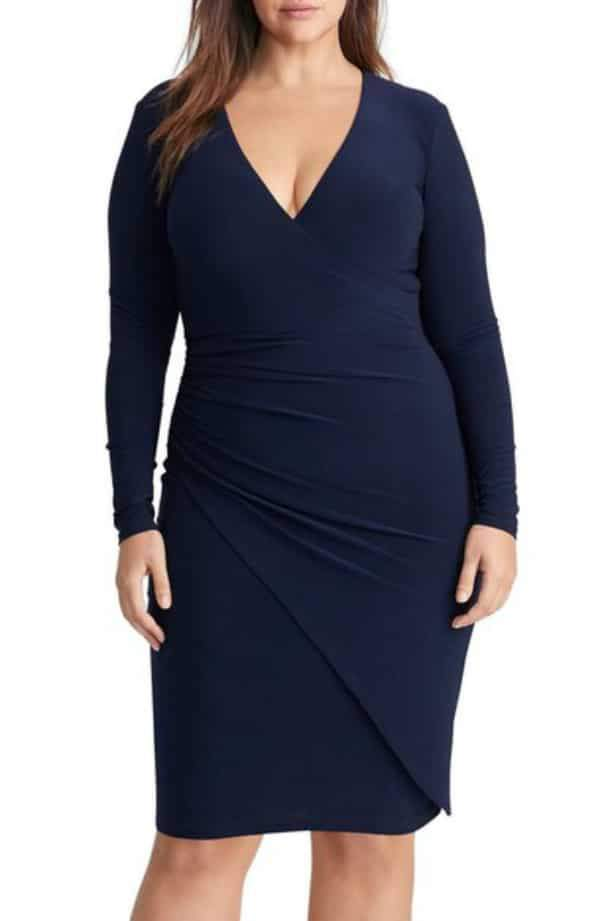 12 Uber Chic Plus Size Wrap Dress You Need In Your Closet