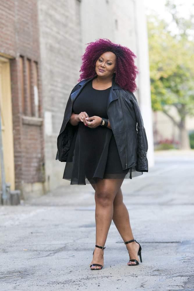 The Curvy Fashionista in Nikki Minaj Kmart Dress