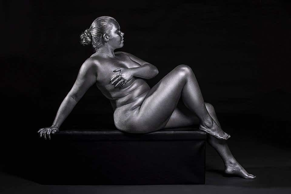 Metallic Curves by Photographer Silvana Denker