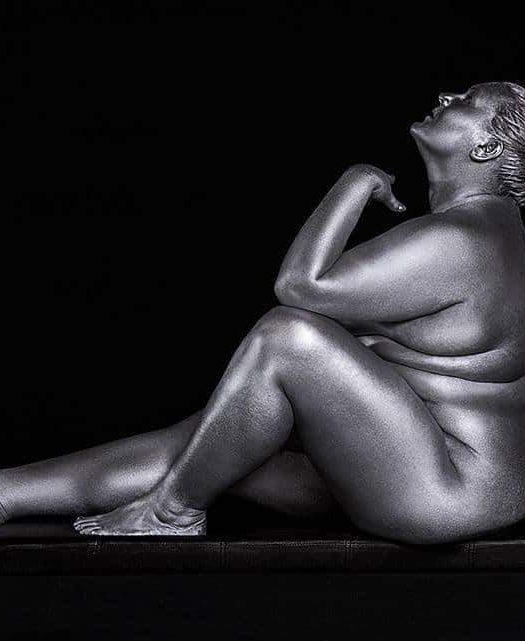 Metallic Curves by Photographer Silvana Denker