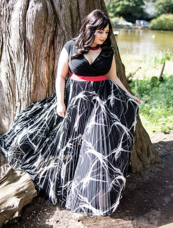 Yuliya Raquel Made-to-Order Collection, plus size designer