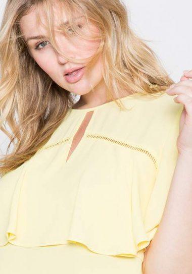 Seeing Ruffles: 10 Fancy & Feminine Must Have Ruffle Blouses