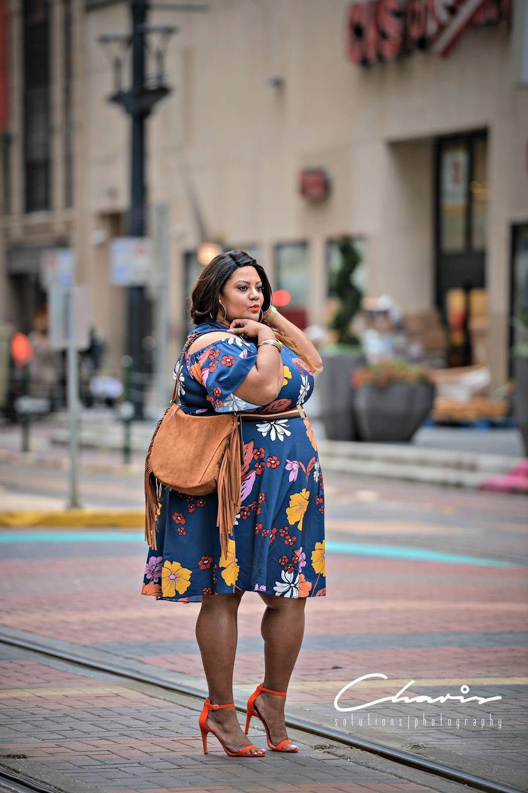 ShaKera of The Real Sample Size, plus size blogger