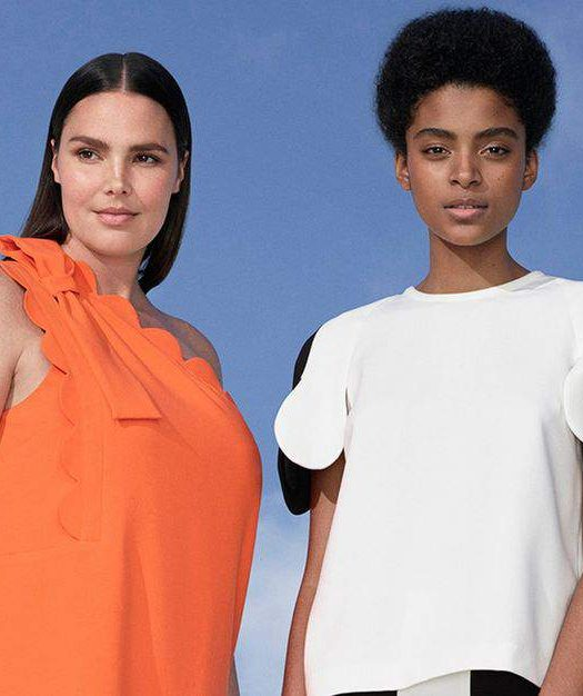 YES! Victoria Beckham x Target Lookbook Dropped WITH Plus Sizes!