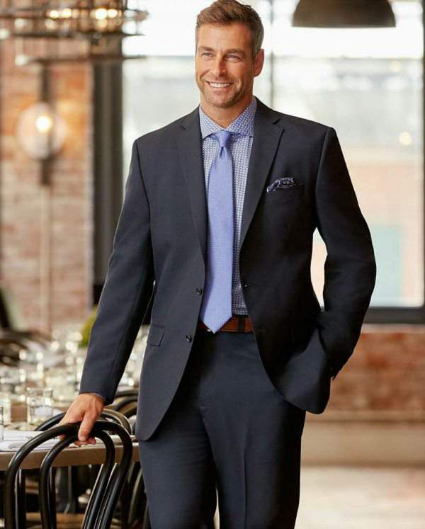 Calvin Klein® Mini Neat Nested Suit at DestinationXL.com