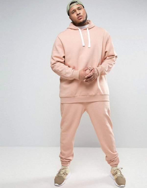 Puma PLUS Logo Hoodie In Pink ASOS Exclusive