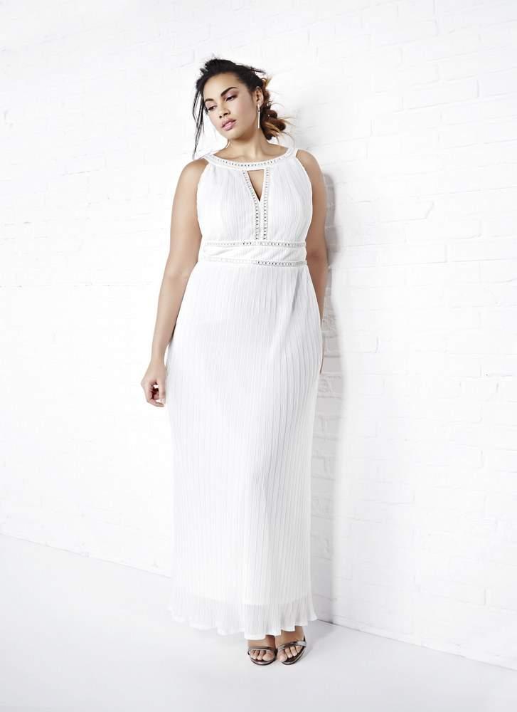 Addition Elle VIOLETS & ROSES PLUS SIZE WEDDING DRESS