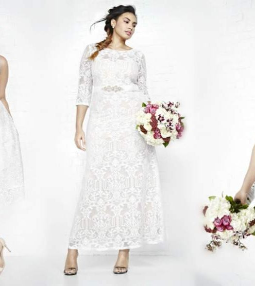 ADDITION ELLE plus size bridal wear