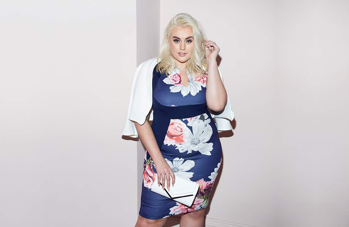 QUIZ Clothing Launches Plus Size Line, Curve, Featuring Felicity Hayward!