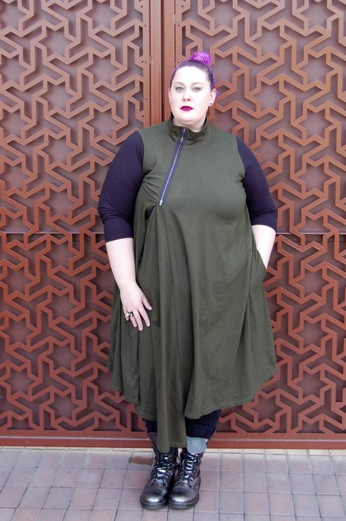 Plus size blogger spotlight- BRXTRMN