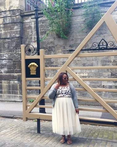 Fashion Blogger Spotlight, Isha of An Autumns Grace, Plus size Blogger