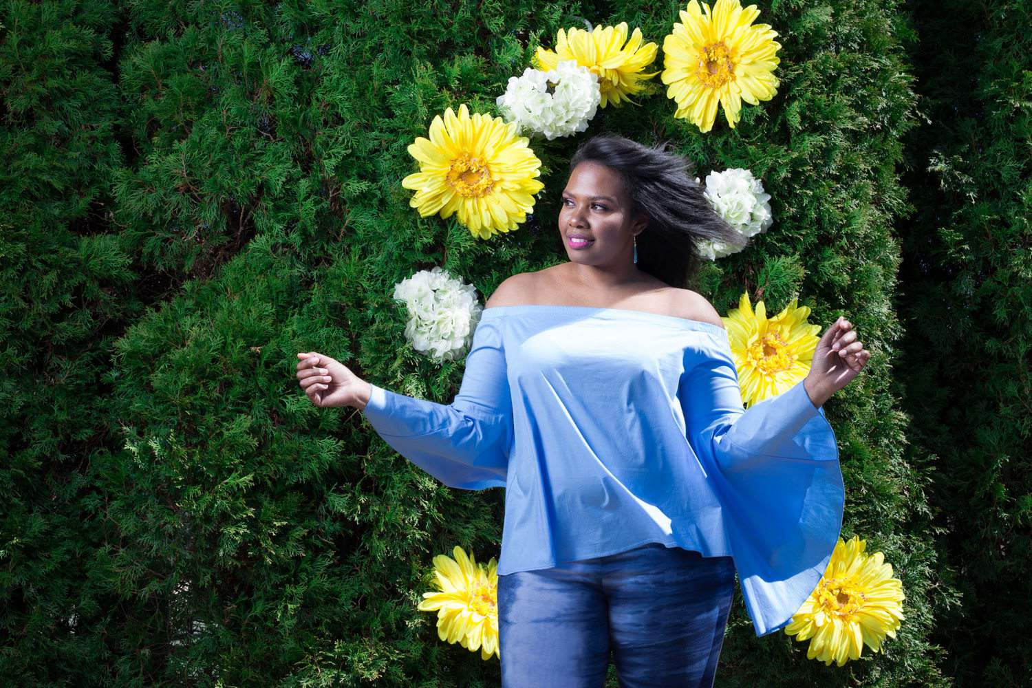 Honey's Child Boutique, Power to the Flower Collection, plus size boutique