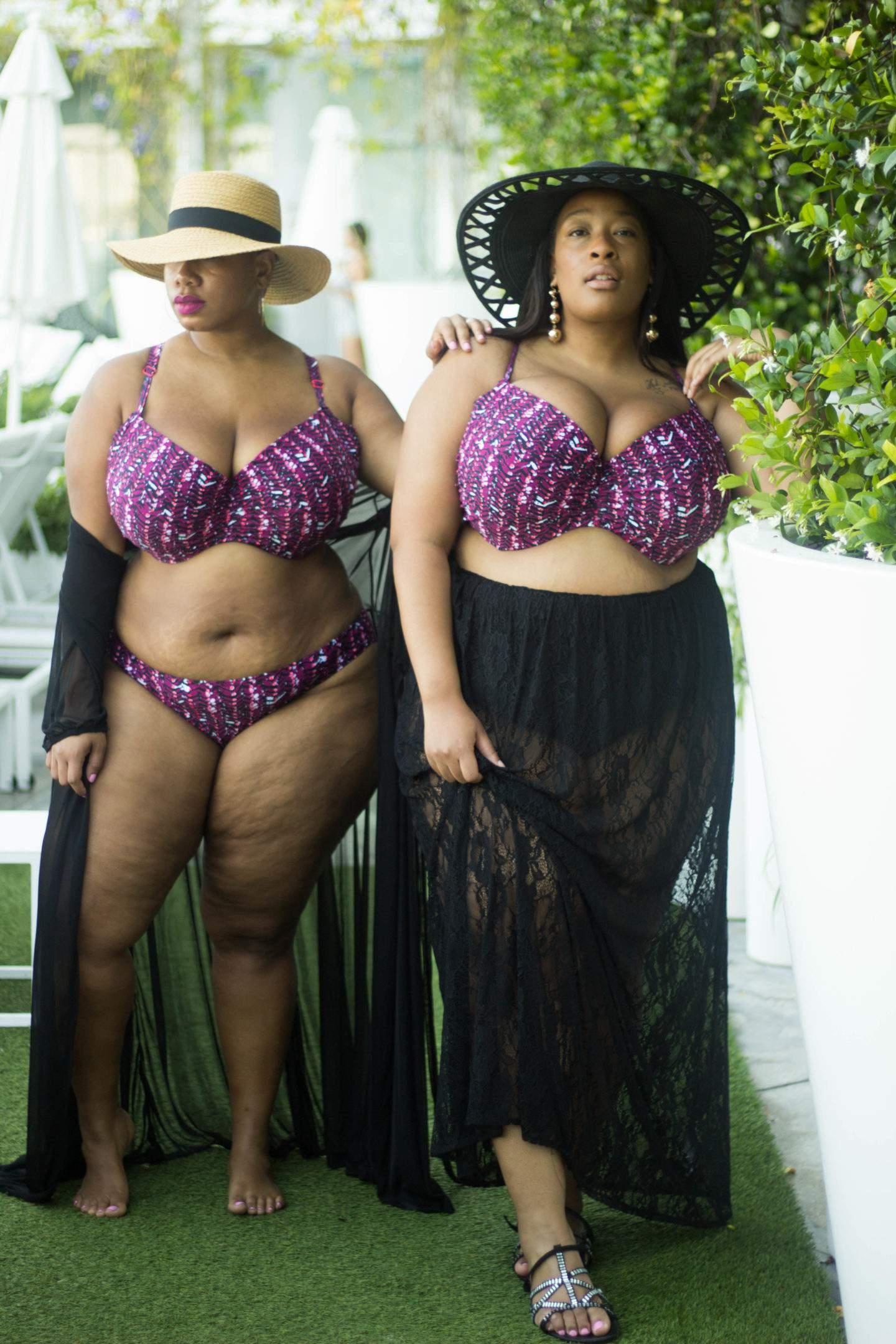 Plus Size Bikinis up to Size 44G do Exist Thanks to Curvy Kate!