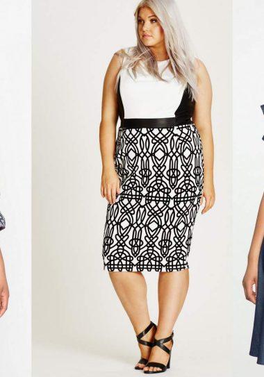 Plus size dresses, plus size spring looks, spring 2017, plus size clothing