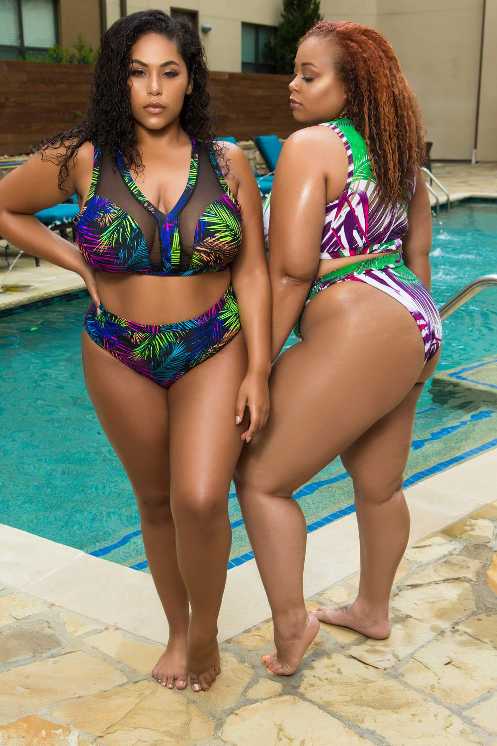 New Plus Size Swim by Curvy Fox