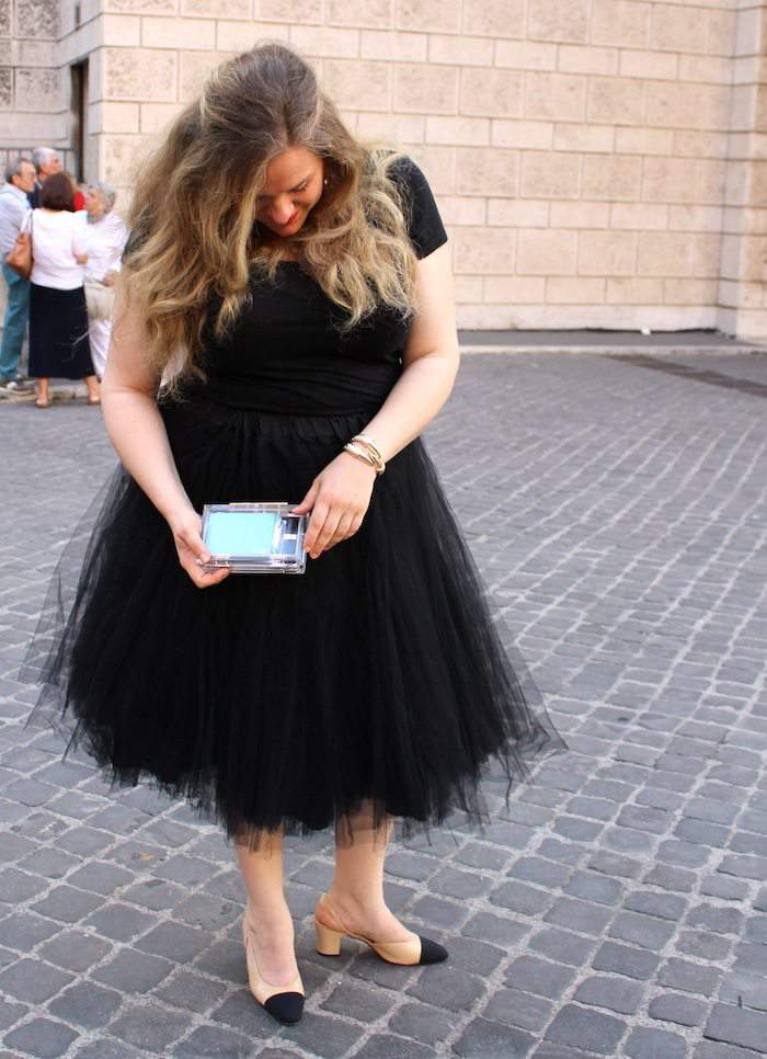 Plus Size Blogger- Paillettes & Champagne