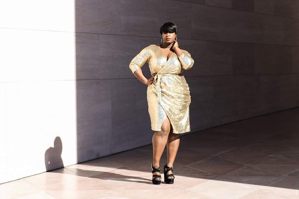 Plus Size Fashion Blogger, Yasmine of Darker Berrie