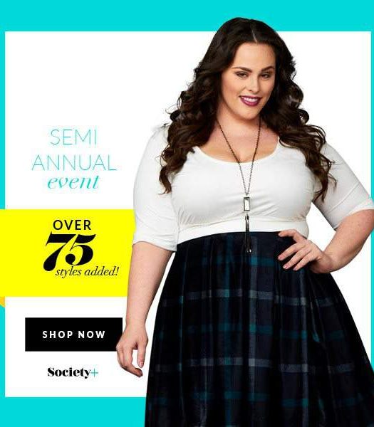 Society Plus, plus size sale, plus size online store, plus size shopping, plus size clothing