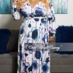 Plus Size Wrap Dresses for Summer- Chic and Curvy Wrap Maxi Dress