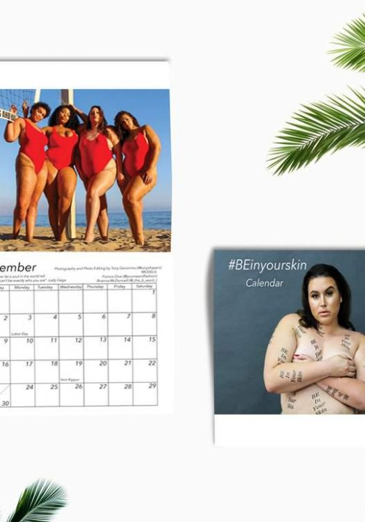 OMG! The B Word Just Dropped Her #BEinyourskin Plus Size Editorial Calendar!