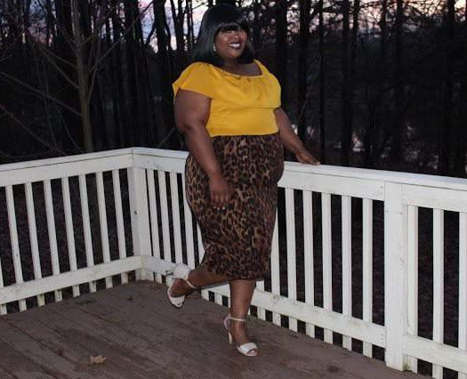 Plus Size Fashion Blogger Spotlight:  Angela of 24 Plus Style
