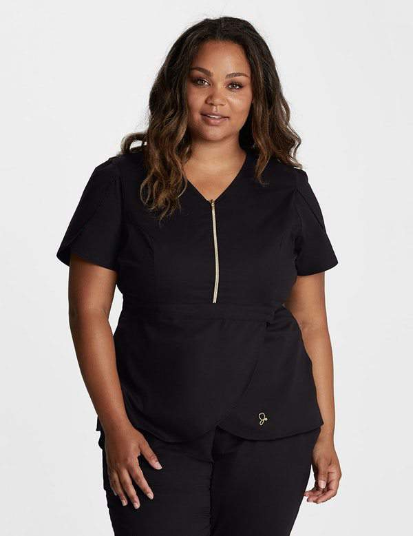 First Look: Plus Size Scrub Collection from Jaanuu Curve!