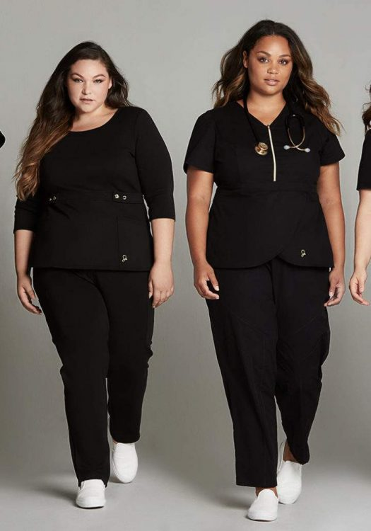 First Look: Plus Size Scrub Collection from Jaanuu!
