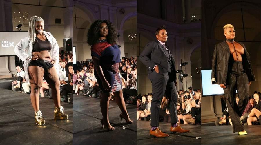 Plus Size Representation at NYFW-  R/Evolution Fashion Show. Photos by Nomi Ellenson