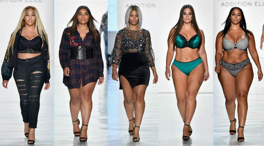 Plus Size Representation at NYFW- Addition Elle at NYFW