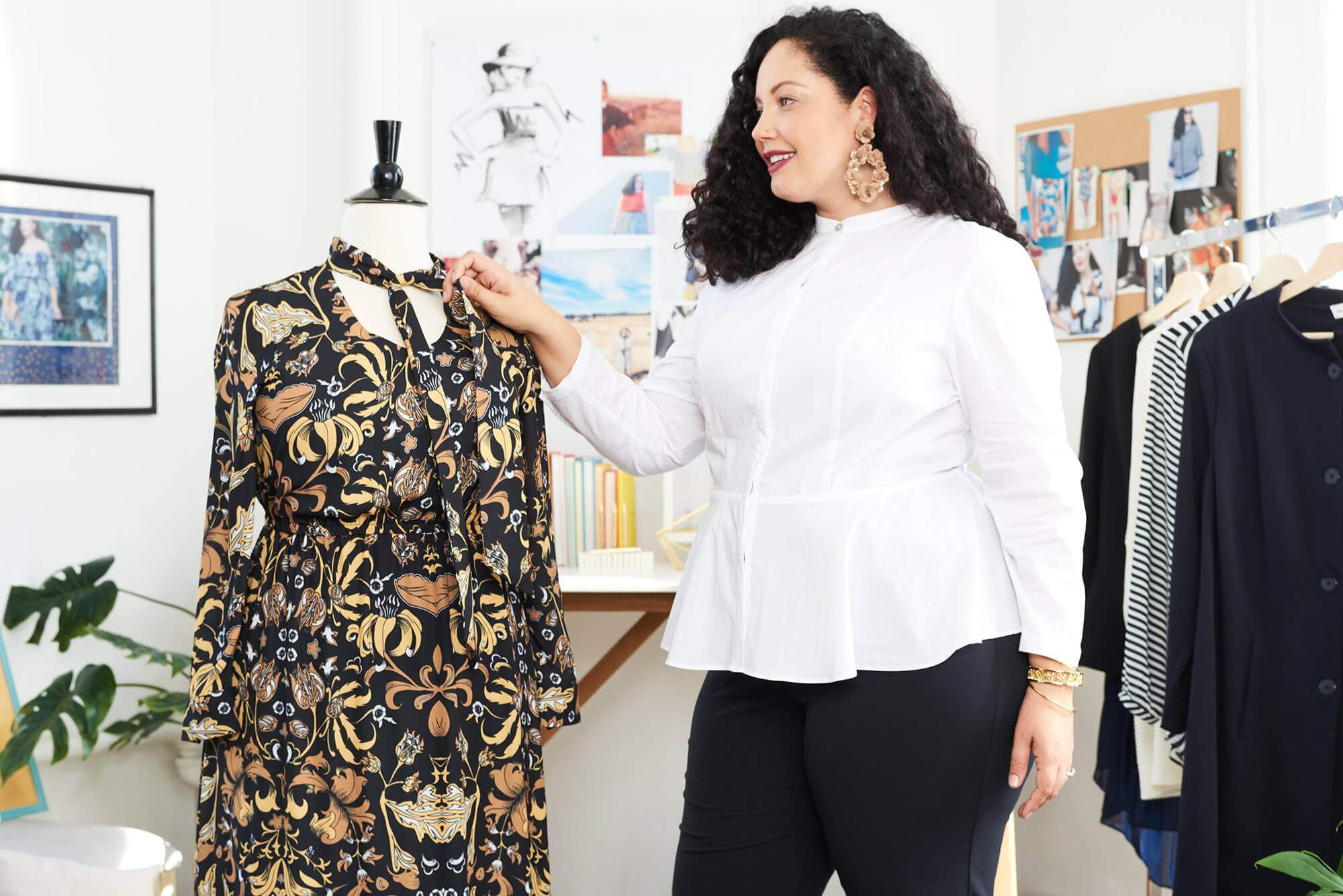 Plus size blogger, Girl With CUrves Teams Up with DIa & Co for her own Capsule Collection