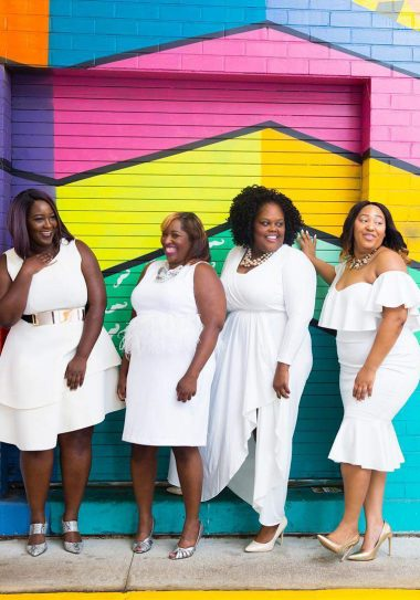 #TCFStyle Round Up: These Plus Size Beauties Stun In Their Whites After Labor Day