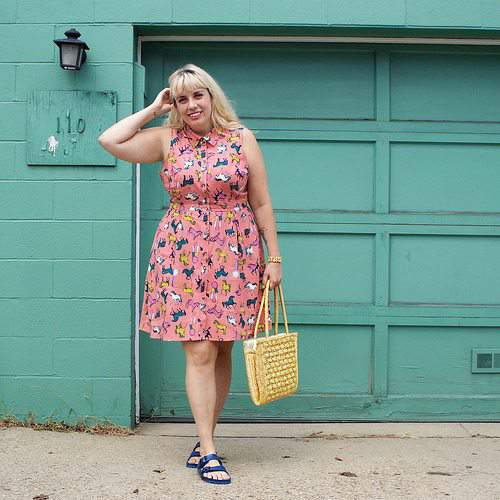 Plus Size Fashion Blogger Spotlight- Jamie of JeTaime