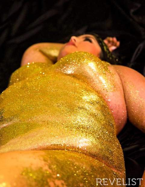Revelist Body Image Body Glitter project