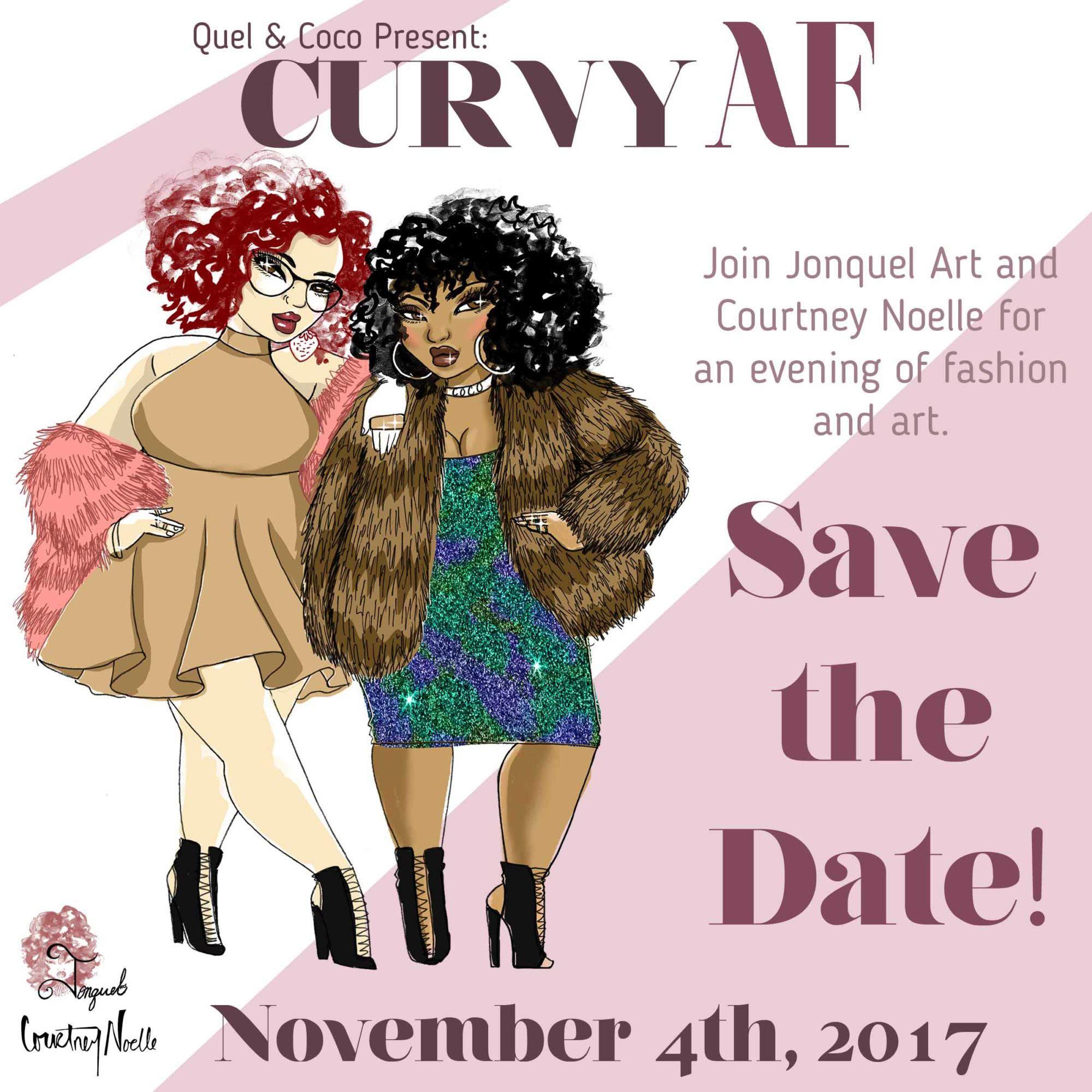 Plus size event, plus size fashion events, plus size event calendar, Courtney Noelle