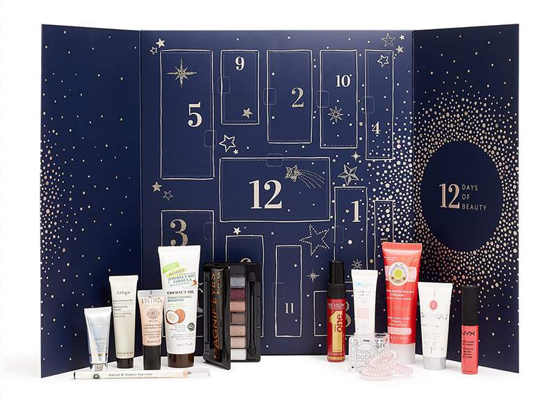 12 Days of Beauty Calendar by Feelunique