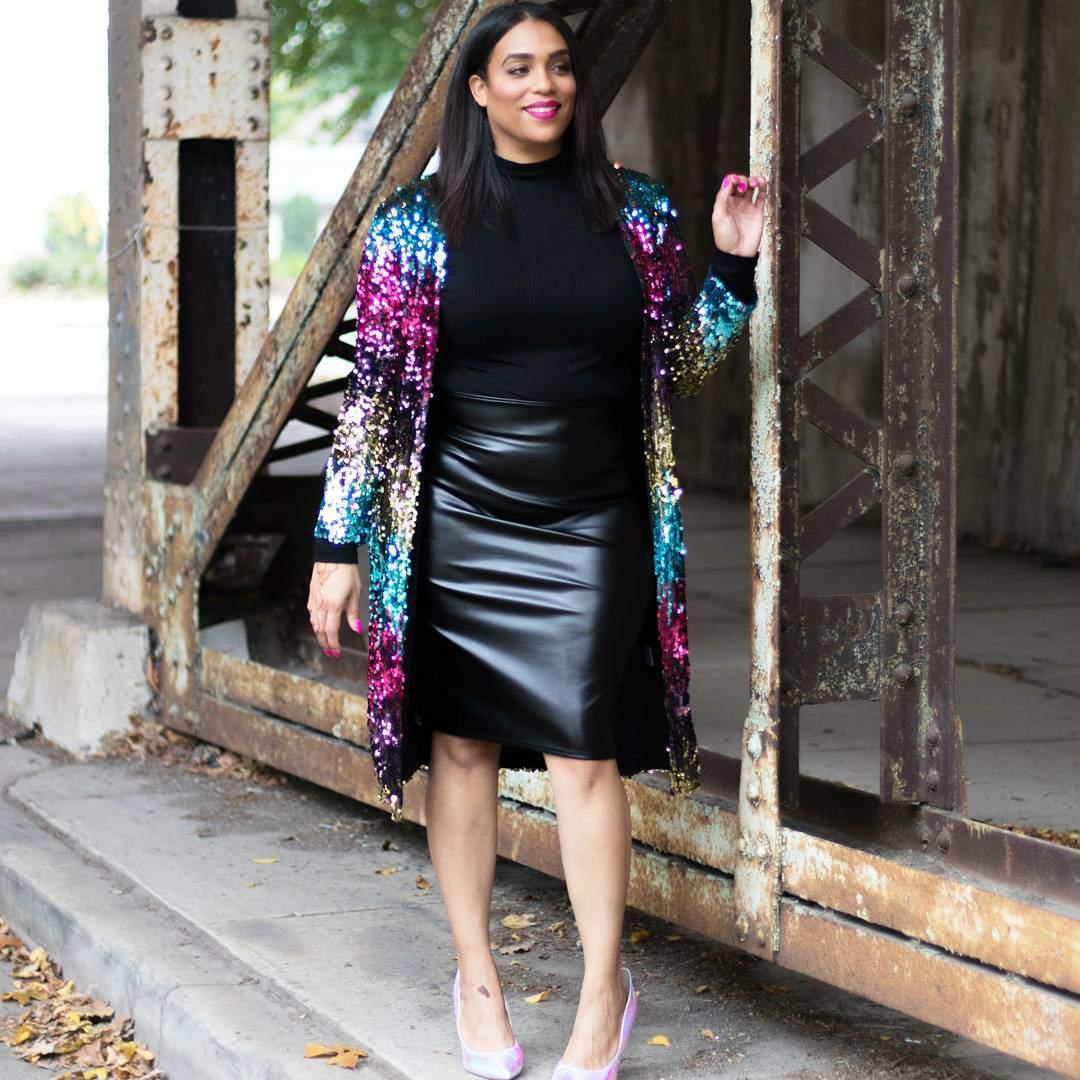 Plus Size Blogger Spotlight- The Glam Mom